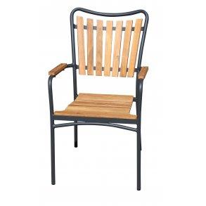 Teak Alu kombinations stole Havemøbelhuset