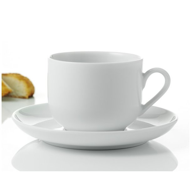 Aida Atelier Hvid Kaffekop - 4 stk. - elegant porcelænsstel. Pricestar