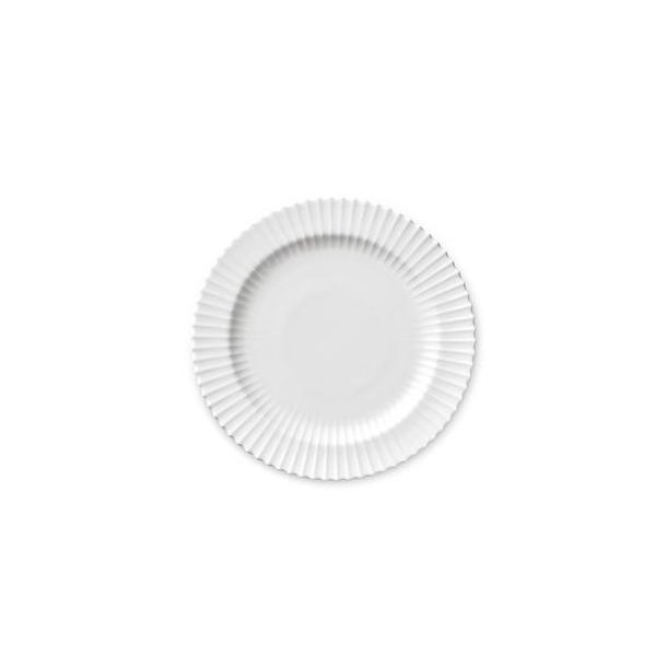 9658a5cf Lyngby Tallerken - 20 cm - Klar Hvid - Alstrøm Isenkram