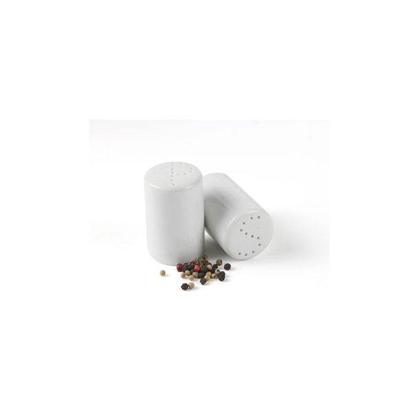 Groovy Salt- & Pebersæt - Hvid - enkelt design. Til dagligt brug. Se her YN64