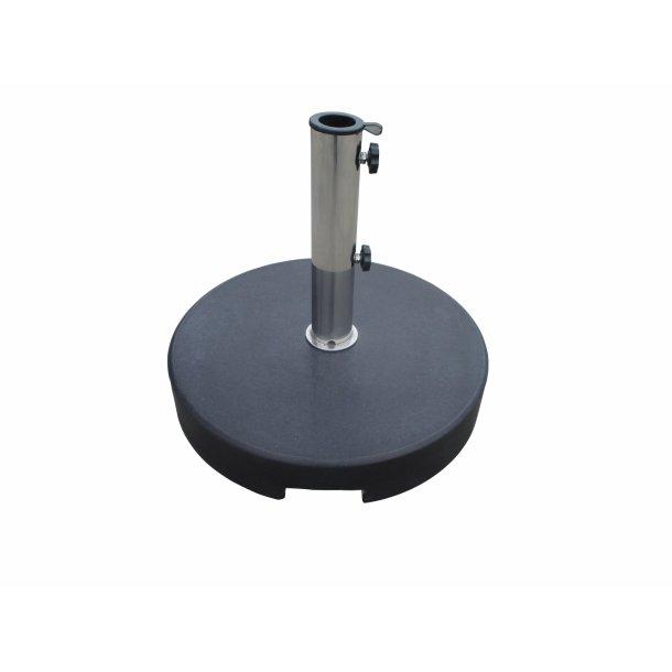 Parasolfod Granit 35 kg. rund