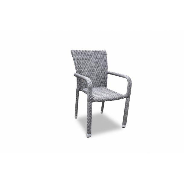 Hadsund Stabelstol grå mix