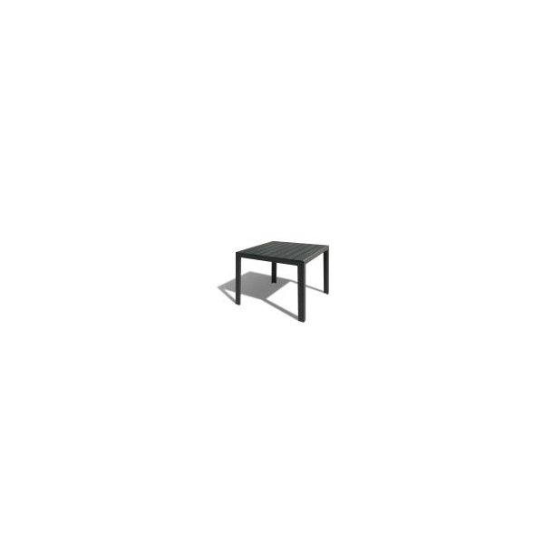 Gilleleje Havebord - 90 × 96 cm - Nonwood sort
