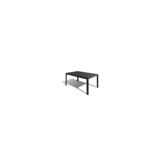 Havebord - 90 × 150 cm - Sort Nonwood