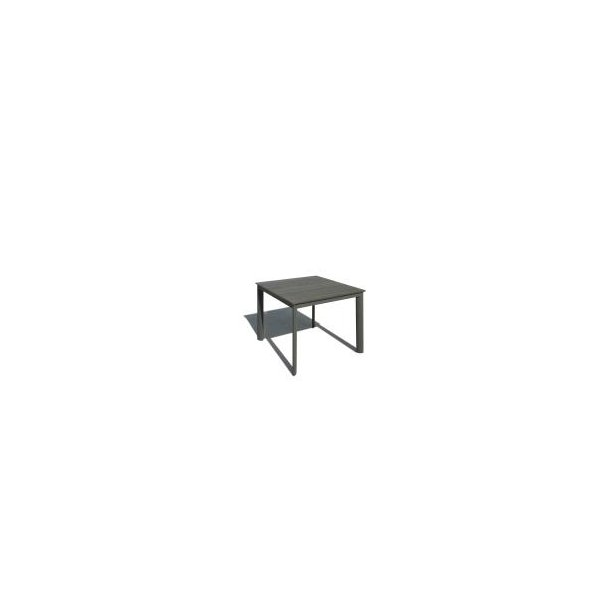 Havebord - 90 × 96 cm - Grå/Antracit