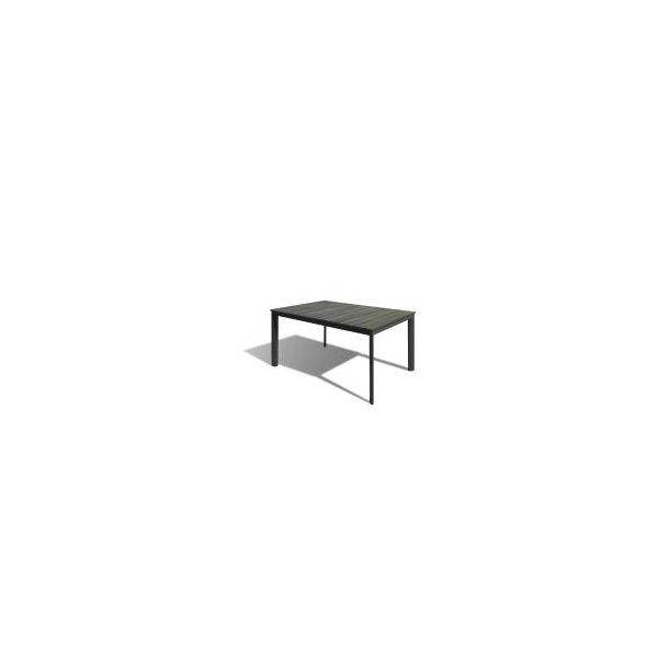 Havebord - 90 × 150 cm - Grå/Antracit