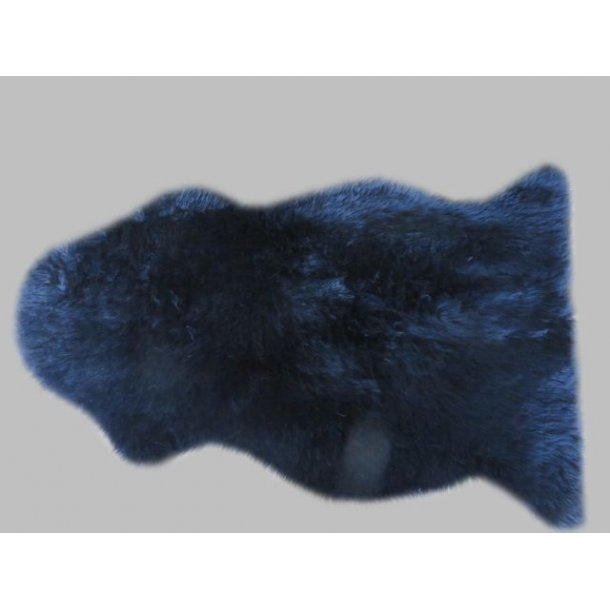 Ægte Lammeskind - Sort - 140 x 70 cm