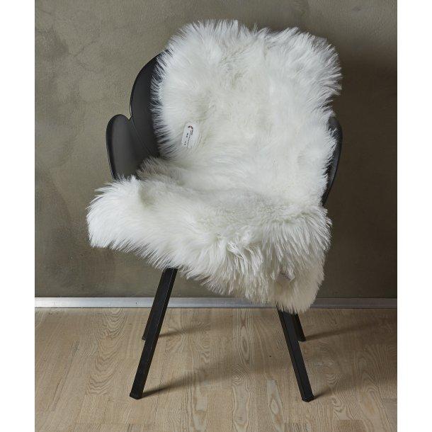 Lammeskind Akryl Sædehynde -Hvid - 60 x 90 cm