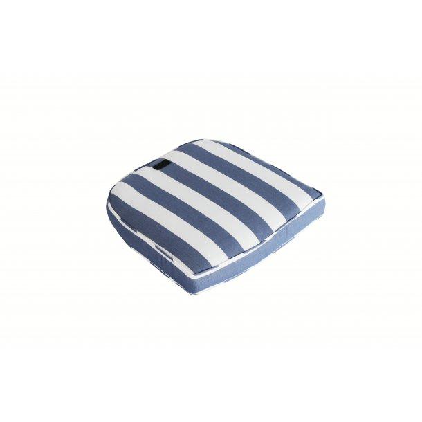 Diana Sædehynde - 45 x 47 cm. - Blå-/Hvidstribet