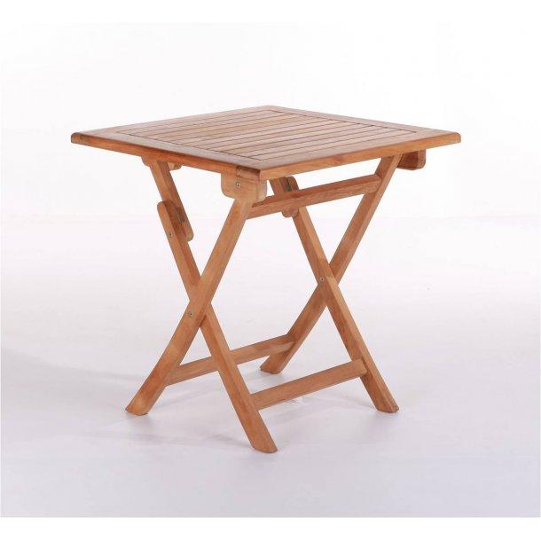 Cafébord Teak - 70 x 70 cm
