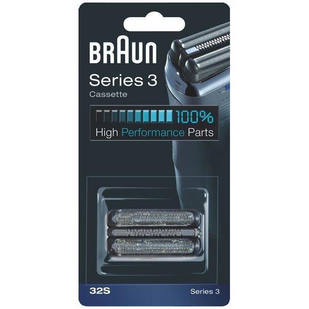 Braun Skær + Skærehoved 32S - tilbehør til barbermaskine