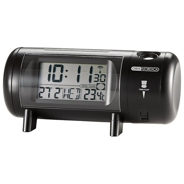 OBH Projektorur - alarm med snooze. Stort udvalg af vækkeure