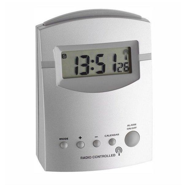 Agimex Radiostyret Vækkeur - digitalt, satelitstyret vækkeur. Bestil her