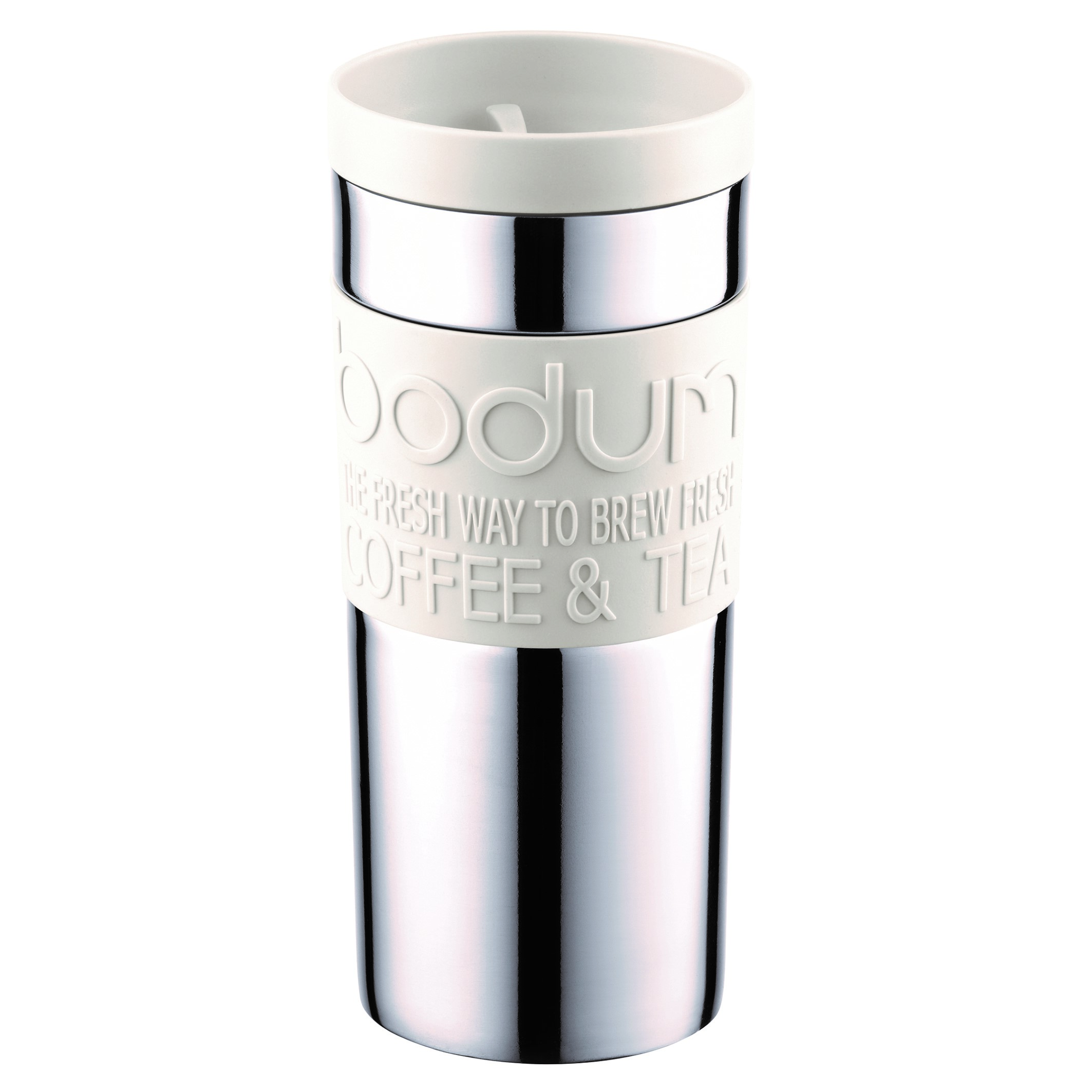 Bodum Travel Mug Stål - Sort - Tæt Låg