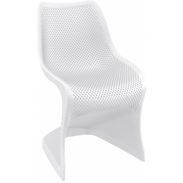 Bloom Design Stabelstol - Hvid