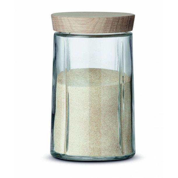 Rosendahl Grand Cru Opbevaringsglas - Egetræslåg - 1 l - Alstrøm