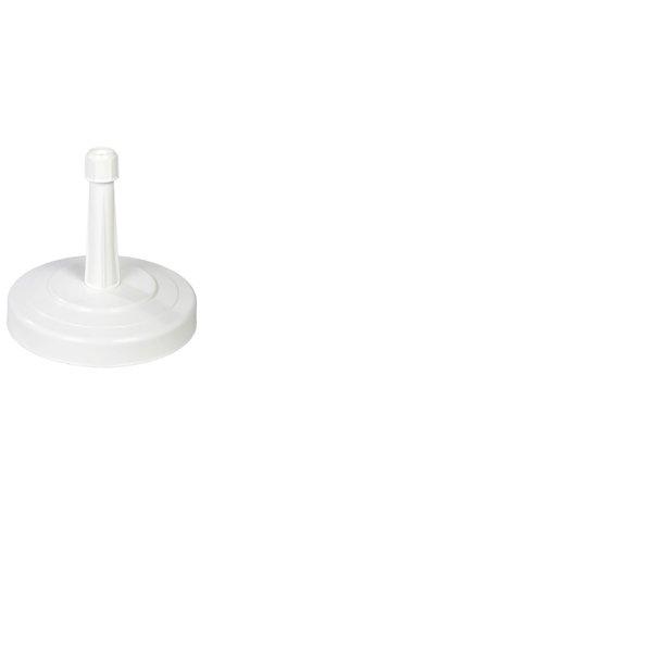 Betonfod m/ Hvid Plastkappe - 15 kg