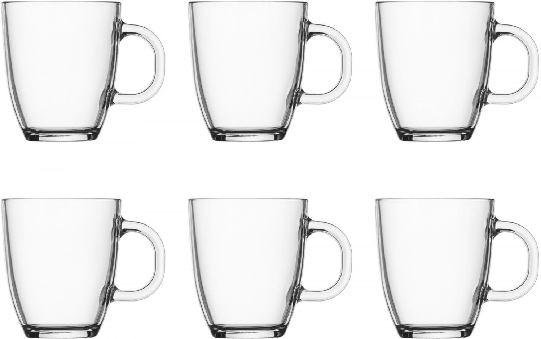 Kendte Bodum Bistro Krus Glas - 6 stk. - krus til kaffe og te. Se her YR-41