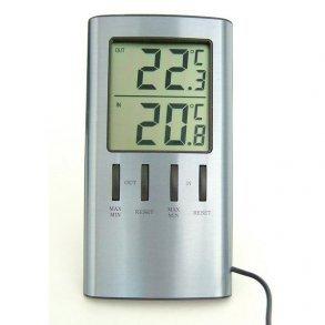 Inde-/Udetermometer