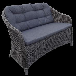 loungesofaer 2 personers sofa til terrassen haven og altanen. Black Bedroom Furniture Sets. Home Design Ideas