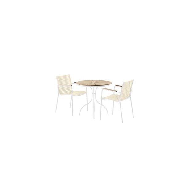 Ella Cafésæt - Hvid