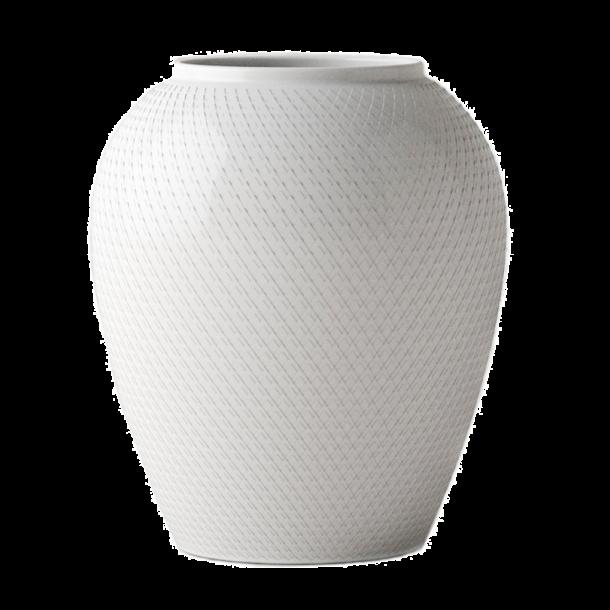 Smart Lyngby Rhombe Vase - 25 cm - Vaser fra Lyngby Porcelæn. Alstrøm HD07